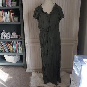 LEVE EIGHT GREEN DRESS XL